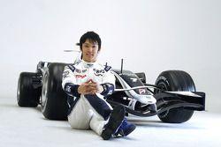 Kazuki Nakajima ve yeni Williams FW30