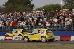 Jean Molder y Frédéric Miclotte, Suzuki Swift S1600