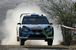 Gianluigi Galli y Giovanni Bernacchini, Stobart VK M-Sport Ford World Rally Team, Ford Focus RS WRC