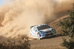 Gianluigi Galli y Giovanni Bernacchini, Stobart VK M-Sport Ford World Rally Team, Ford Focus RS WRC