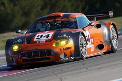 #94 Speedy Racing Team Spyker C8 Laviolette GT2R: Philippe Camandona, Andrea Chiesa, Benjamin Leuenb