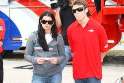 Danica Patrick et Marco Andretti