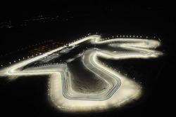 Overzicht van het Losail International Circuit