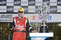 Victory lane: race winner Matt Kenseth