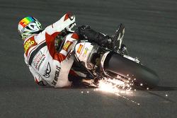 Alex De Angelis crasht