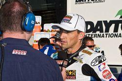 Race winner Matt Mladin