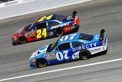 Clint Bowyer et Jeff Gordon