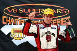 Will Davison wins round two of the championship (Jim Beam Racing Ford Falcon BF)