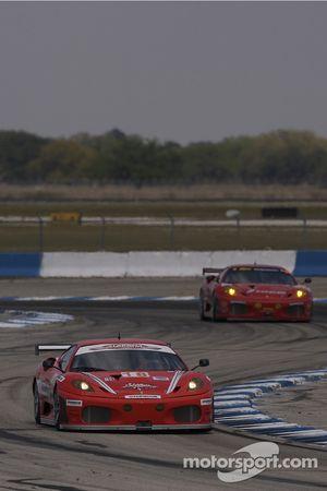 #18 Corsa Motorsports Ferrari F430 GT: Gunnar Jeannette, Johnny Mowlem, Ralf Kelleners