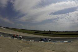#15 Lowe's Fernandez Racing Acura ARX-01B Acura: Adrian Fernandez, Luis Diaz, #46 Flying Lizard Motorsports Porsche 911 GT3 RSR: Johannes van Overbeek, Patrick Pilet, Richard Lietz