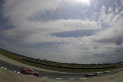 #16 Dyson Racing Team Porsche RS Spyder: Chris Dyson, Guy Smith, #18 Corsa Motorsports Ferrari F430