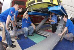 Autoracing Club Bratislava Porsche 911 GT3 RS at tech inspection