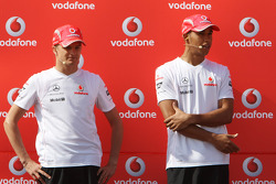 Lewis Hamilton, McLaren Mercedes, Heikki Kovalainen, McLaren Mercedes