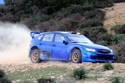 Subaru March testing