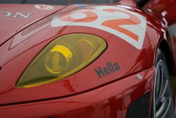 Detail of the Risi Competizione Ferrari F430 GT