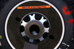 Toyota F1 Team spare tyres