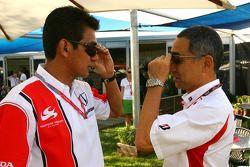 Aguri Suzuki, Super Aguri F1, Hiroshi Yasukawa, Bridgestone