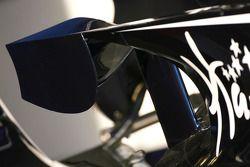Williams FW30 wing detay