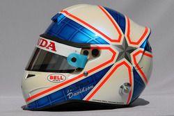Anthony Davidson, Super Aguri F1 Team, helmet