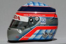 Takuma Sato, Super Aguri F1,, kask