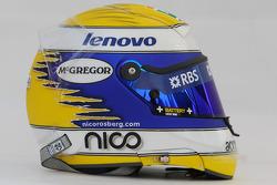 Casque de Nico Rosberg, WilliamsF1 Team