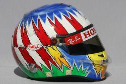 De helm van Alexander Wurz, Testrijder, Honda Racing F1 Team