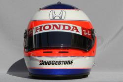 Casque de Rubens Barrichello, Honda Racing F1
