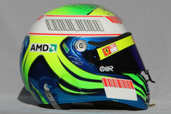 Casque de Felipe Massa, Scuderia Ferrari