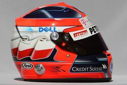 Casque de Robert Kubica, BMW Sauber F1 Team