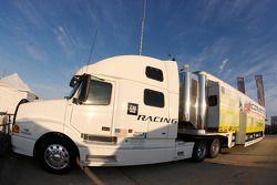 Corvette Racing transporter