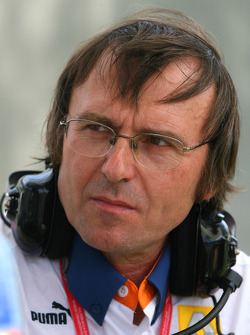 Denis Chevrier, Responsable des opérations piste