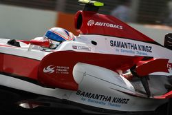 Technical feature, engine cover and side wing, Anthony Davidson, Super Aguri F1 Team