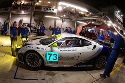 #73 Tafel Racing Ferrari F430 GT: Allan Simonsen, Pierre Ehret, Jim Tafel