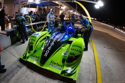Patron Highcroft Racing team members at work