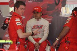 Rob Smedly,, Scuderia Ferrari, Track Engineer of Felipe Massa and Felipe Massa, Scuderia Ferrari