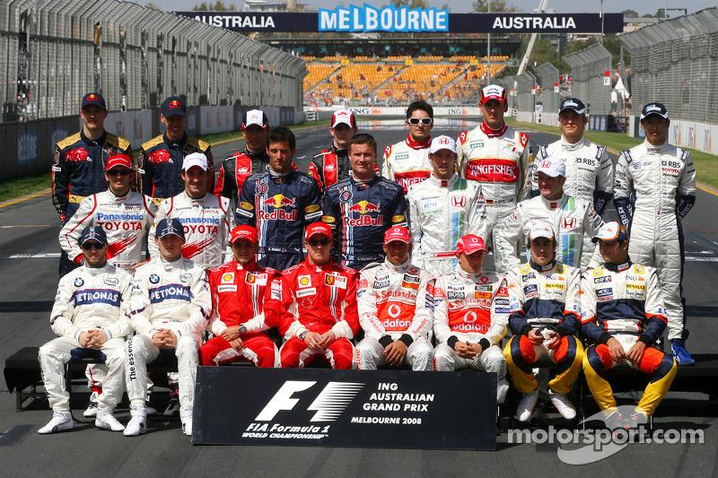 Clase 2008 Fórmula 1