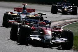 Тимо Глок, Toyota F1 Team и Адриан Сутиль, Force India F1 Team