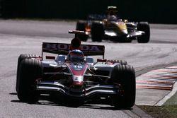 Takuma Sato, Super Aguri F1 Team, Nelson A. Piquet, Renault F1 Team