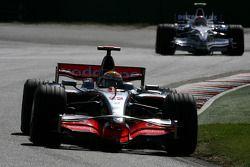Lewis Hamilton, McLaren Mercedes, Robert Kubica, BMW Sauber F1 Team