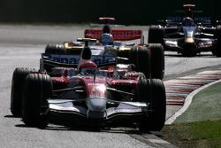 Тимо Глок, Toyota F1 Team, Адриан Сутиль, Force India F1 Team, Себастьен Буэми, Scuderia Toro Rosso