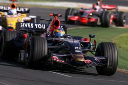 Sébastien Bourdais, Scuderia Toro Rosso, Fernando Alonso, Renault F1 Team, Heikki Kovalainen, McLaren Mercedes