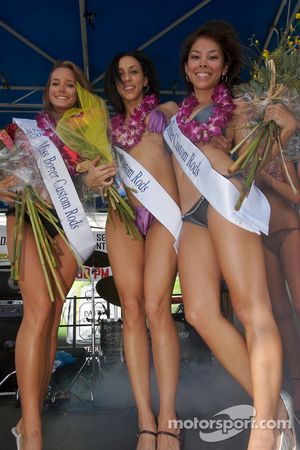 The lovely top-three contestants