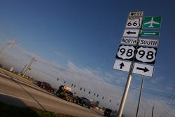 This way to Sebring International Raceway