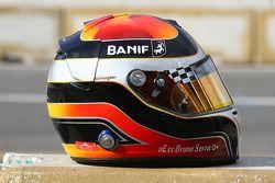 Bruno Serra, driver of A1 Team Portugal helmet
