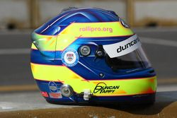 Duncan Tappy, driver of A1 Team Great Britain helmet