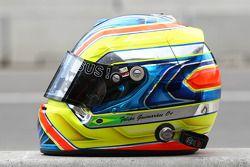 Felipe Guimaraes, driver of A1 Team Brazil helmet
