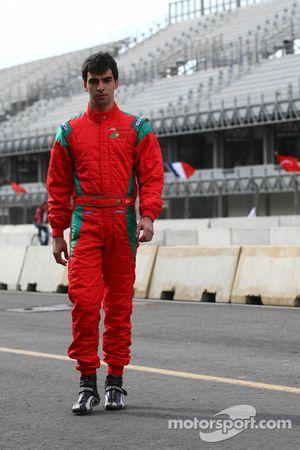 Bruno Serra, driver of A1 Team Portugal