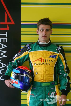 Nathan Antunes, driver of A1 Team Australia