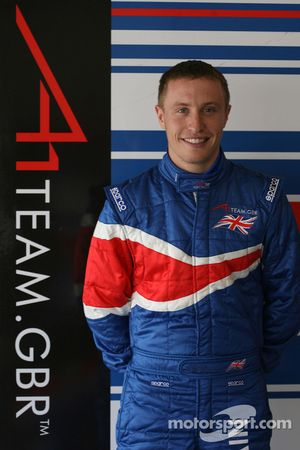 Duncan Tappy, driver of A1 Team Great Britain