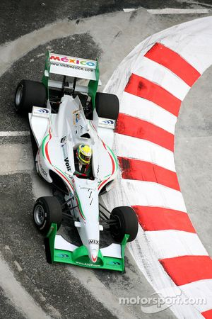 David Garza, driver of A1 Team Mexico